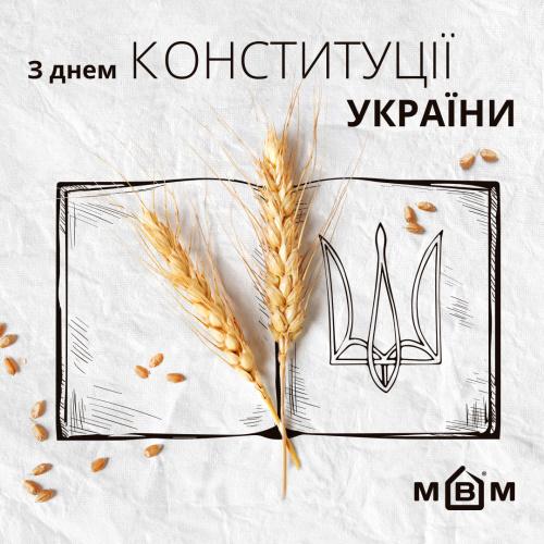 С Днем Конституции, Украина!